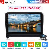 Android 10.0 Car GPS Stereo Sat Nav Radio For Audi TT MK2 8J 2006-2014 DAB SWC