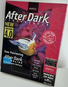RARITÄT - After Dark Screensaver, New Version 4.0 - PC/Mac - Deutsch