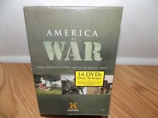America At War Megaset 14 Disc Set of Miltary Combat - History Channel DVD NEW