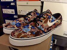 "DS Nike Zoom Stefan Janoski - ""Digi-Floral"" Tan/Blue - Size 10.5"