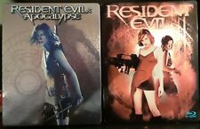 RESIDENT EVIL Steelbook Lot Blu-ray Resident Evil and Apocalypse Great Gift idea