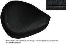 BLACK STITCH CUSTOM FITS YAMAHA XVS 125 DRAGSTAR 00-04 FRONT SEAT COVER