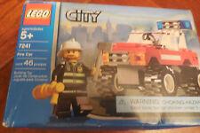 Lego City Emergency Rescue Fire Car (7241) NEW IN BOX