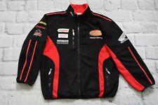 HONDA jacket racing black fleece   Men bomber size L