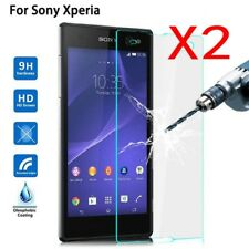1/2x Tempered Glass Screen Protector For Sony Xperia X Compact XA XA1 Ultra Plus