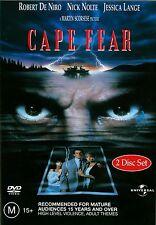 CAPE FEAR Martin Scorsese (2-Disc Set) - Robert De Niro, Nick Nolte DVD Region 4