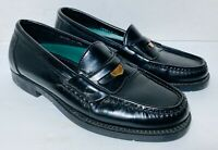 WALKOVER BY DEXTER MENS SHOES PENNY LOAFERS BLACK 7M HANDSEWN LEATHER
