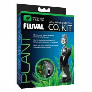 Fluval 45g Pressurized CO2 Kit Small Planted Aquariums Up To 30 US Gal #17554