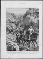 1893 Antique Print - AFRICA MATABELE Campaign Forces Archie Colquhoun    (239)