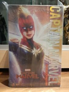 Hot Toys MMS522 Captain Marvel Deluxe Version NEW