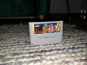 Super Bomberman 2 Super Nintendo SNES Cartridge PAL