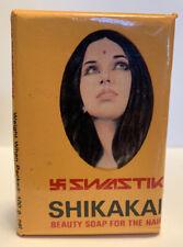 Vintage Old Rare Swastik Shikakai Beauty Soap For Hair Bombay India