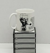 Vintage Largely Literary Coffee Cup / Mug~William Faulkner~1992