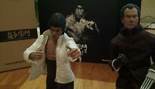 Hot Toys Bruce Lee DX04 1/6 and Custom Mr. Han (Shin Kim) 1/6 scale 2 Figures