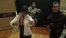 Hot Toys Bruce Lee DX04 1/6 and Custom Mr. Han (Shin Kim) 1/6 scale 2 Figures