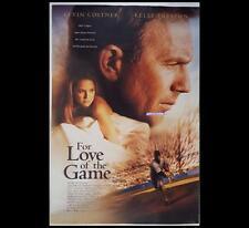 For Love of the Game 1999 Baseball Original Australian OneSheet Movie Poster 227