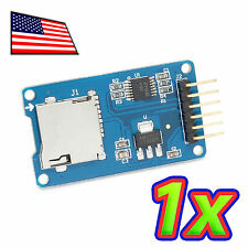 Micro SD and Memory Card Breakout Shield/Module via SPI For Arduino - Regulated