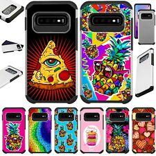 FUSION CASE For Samsung Galaxy S10 4G / S10E / S10 E / S10 Plus Phone Cover Y25