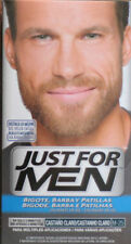 Just For Men M-25 Barba Bigote Castaño Claro Baffi Capelli Coloranti Beard M25
