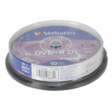 Verbatim DVD+R DL 8.5GB 8x Spindle 10 Pack XC4746