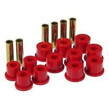 "Prothane 88-99 GM Pickup Tahoe Suburban 1 3/8"" Eye Rear Leaf Spring Bushings Red"