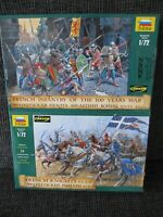 French Army of the 100 Years War von Zvezda im Maßstab 1:72