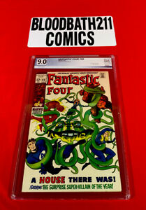 Fantastic Four #88 PGX Graded 9.0! Mole Man Appearance. Stan Lee Story Comic!