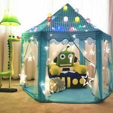 Nuevo Niños Niños Juego Tienda Hada Princesa Niñas Niños Hexágono Playhouse House
