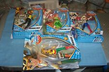 Dc Super Hero Girls Harley Quinn Poison Ivy Hawkgirl Bumblebee Carded