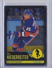 Nino Niederreiter New York Islanders 12-13 O-Pee-Chee Black Border Rainbow #128
