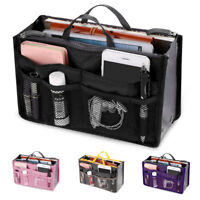 Travel Insert Organizer Handbag Large Liner Lady Makeup Organiser Toiletry Bag