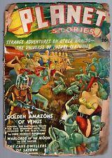 ORIGINAL 1st ISSUE Winter 1939 20c PLANET STORIES Mag Worlds' Strange Adventures