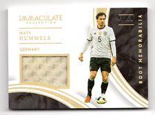 Mats Hummels 2017 Inmaculada Colección recuerdos de Arranque #/50 (Bayern Munich,