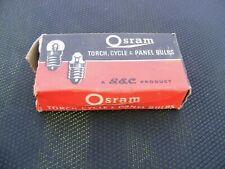 vintage cycle lights(BULBS) Osram