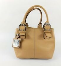 Tignanello Nude Leather Handbag Pristine 27cm X 20cm