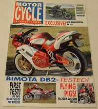 MCI 11/92 Bimota DB2, Yamaha RD350R, Manx Norton 30M, BMW K75, Kawasaki Xanthus
