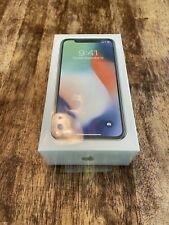 Apple iPhone X Silver 256GB - New, Unlocked!