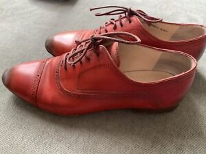 BALLY Switzerland Ladies Brogues Shoes Shoes 37 6.5