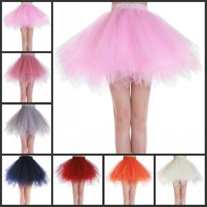RULTA Tutu Tulle Skirt Fancy girl Lady Dress Up Party Dancing Dress Halloween J1