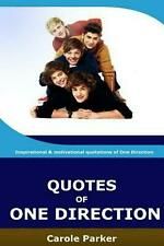 Quotes of One Direction: Funny, Inspirational, & Motivational Quotations of Boyb