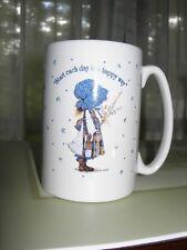 Hollie Hobbie mug ~ Blue Girl ~ Never Used