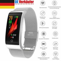 Wasserdicht Smart Watch Smart Armband Uhr Fitness Tracker Pulsuhr Blutdruck IP67