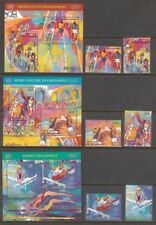 U.N. 1996 Sport & Environment Complete Set From All Three Offices