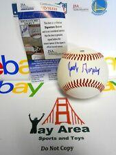 JSA Jacob Gonzalez Signed Autographed Auto Baseball Ball SF Giants Rookie