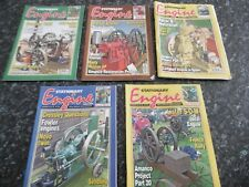 UK STATIONARY ENGINE MAGAZINES - 5 X STATIONARY ENGINE MAGAZINES - 2012