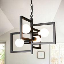 Black Chandelier Lighting Kitchen Ceiling Lights Bar Lamp Vintage Pendant Light