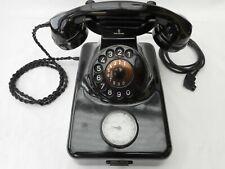 Altes Bakelittelefon ** W 48  Gbanz ** 1957 ** Wählscheibe * Post * volle Funkt.