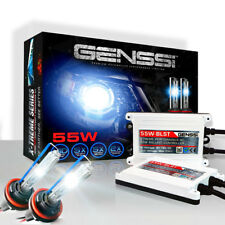 Genssi AC 55w HID Kit H4 H7 H11 H13 9003 9005 9006 9007 6000k Hi Lo Bi Xenon