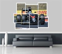 Huge Collage View Fernando Alonso Racing Wall Sticker Mural Wallpaper 1147