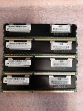 New listing Hp 500205-071 Oem (4x) 8Gb 32Gb 2Rx4 Pc3-10600R Ddr3-1333 Memory Ram Not 4 Pc!